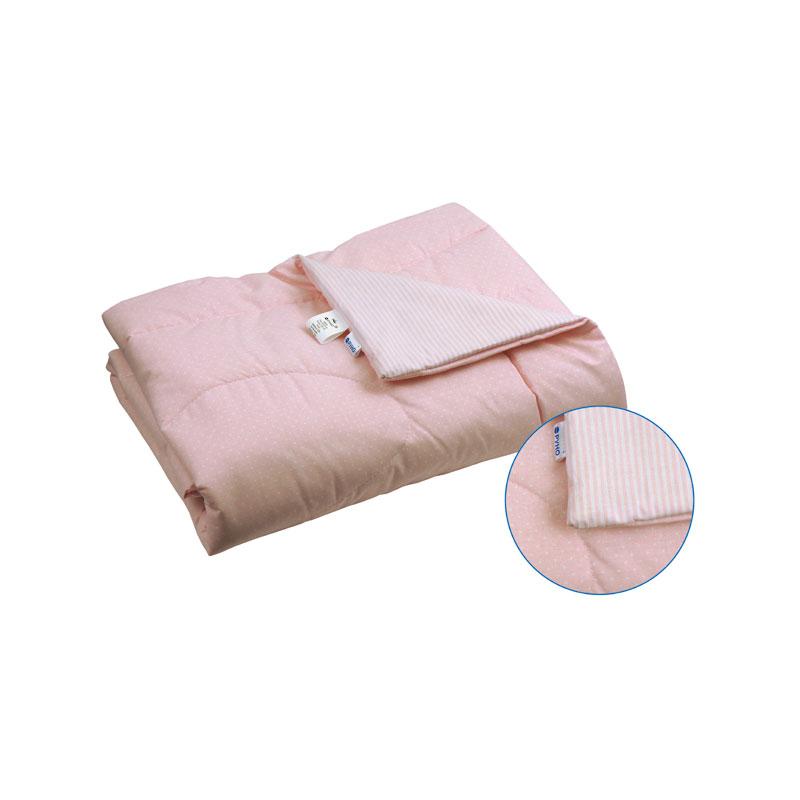 Детские летние одеяла - Детское хлопковое одеяло 02ХБУ розовое