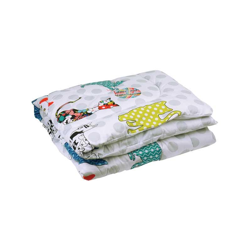 Детские зимние одеяла - Детское силиконовое одеяло «CAT»