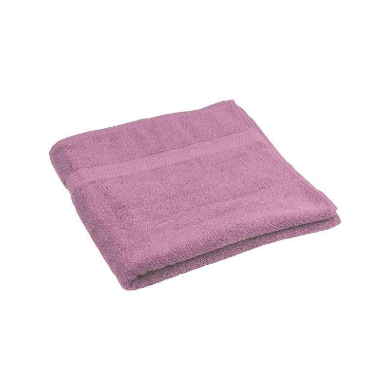 Банні рушники - Махровий гладкофарбований рушник ліловий 70х140 см