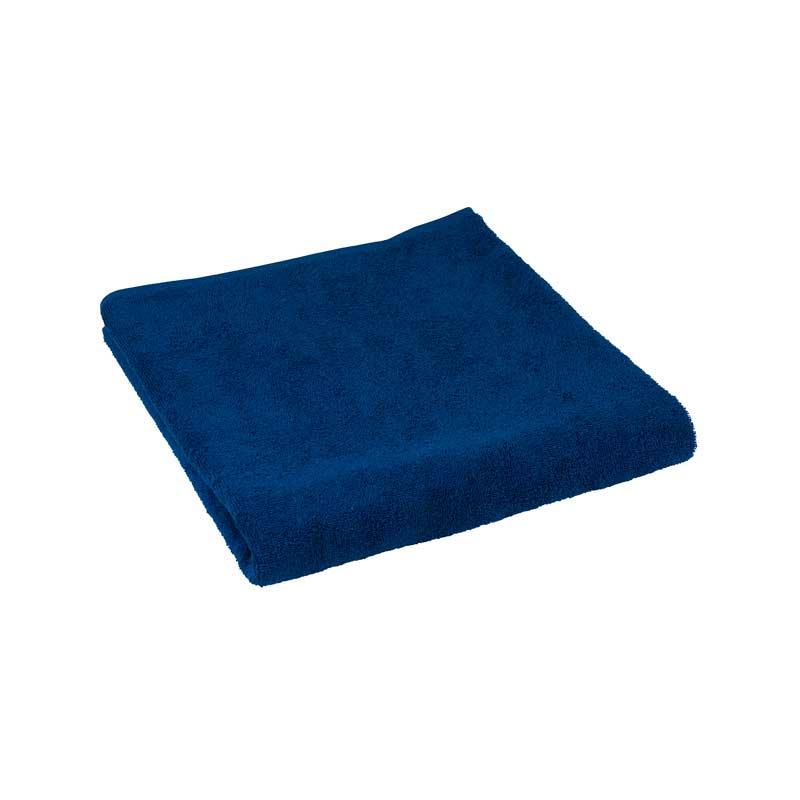 Махрові рушники - Махровий гладкофарбований рушник синій 50х90 см