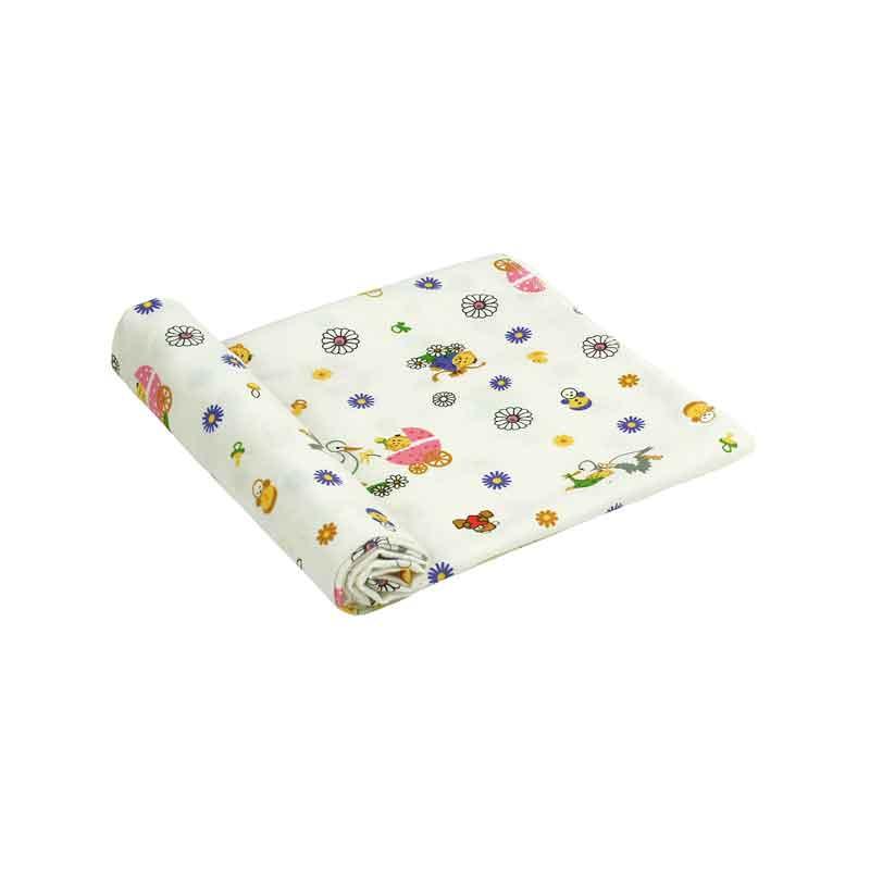 Бавовняні пелюшки - Фланелева пелюшка 10-0320 pink 90х80 см