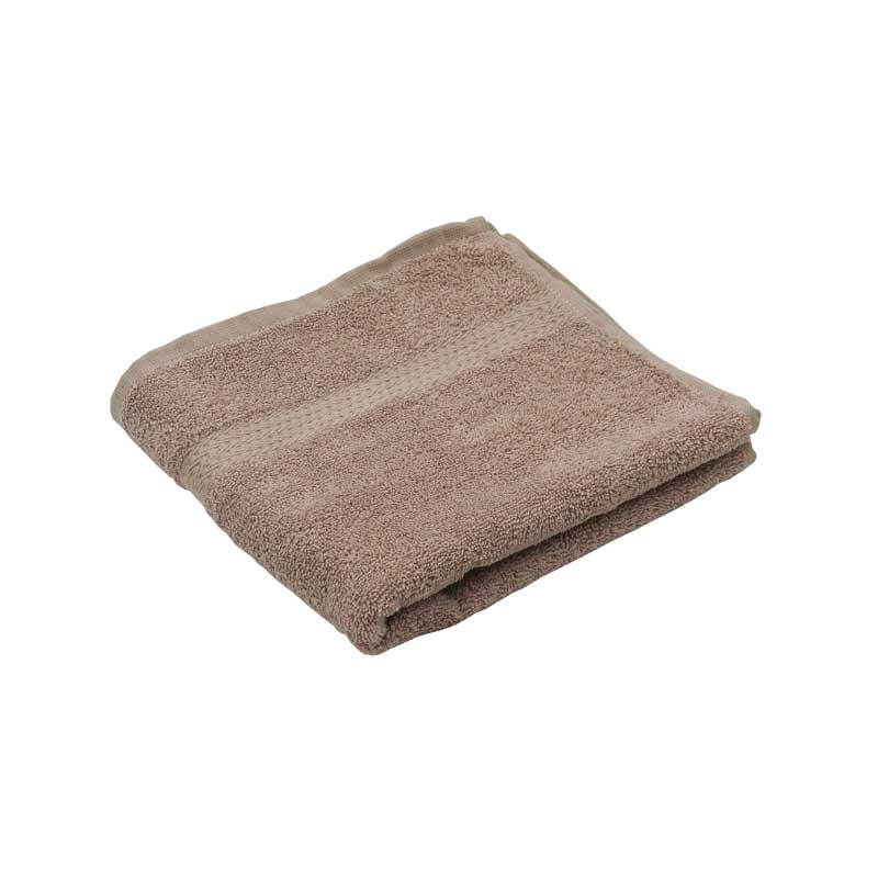 Махрові рушники - Махровий гладкофарбований рушник бузковий 50х90 см