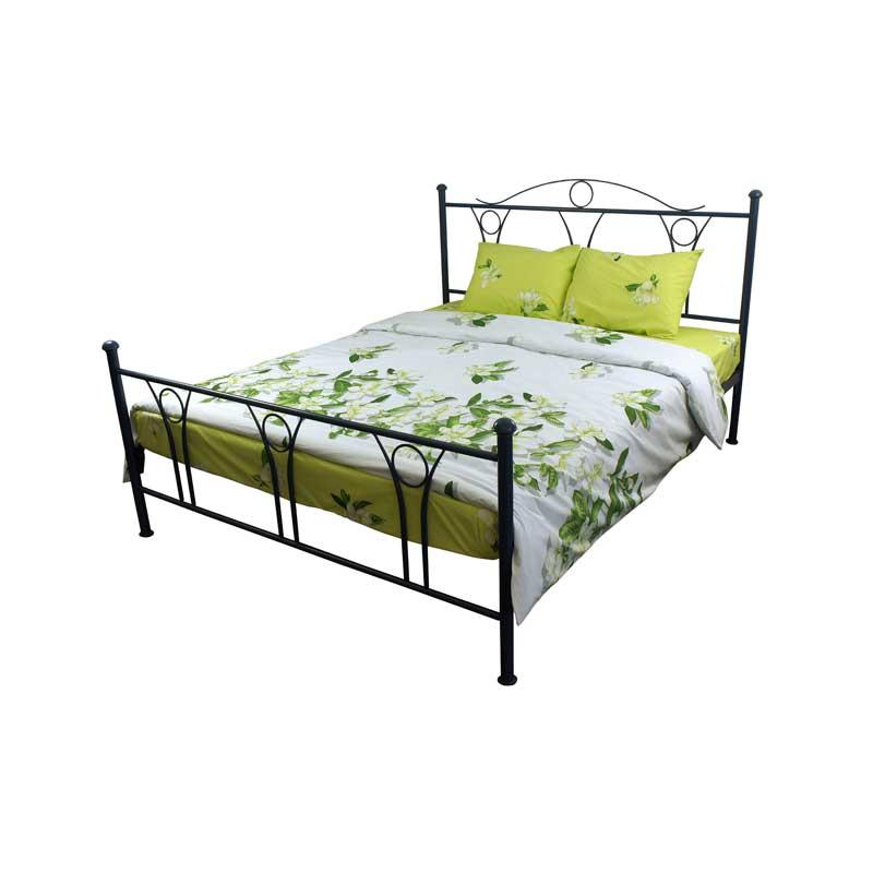 Комплекти постільної білизни - Комплект постільної білизни 20-1396 Green полуторний