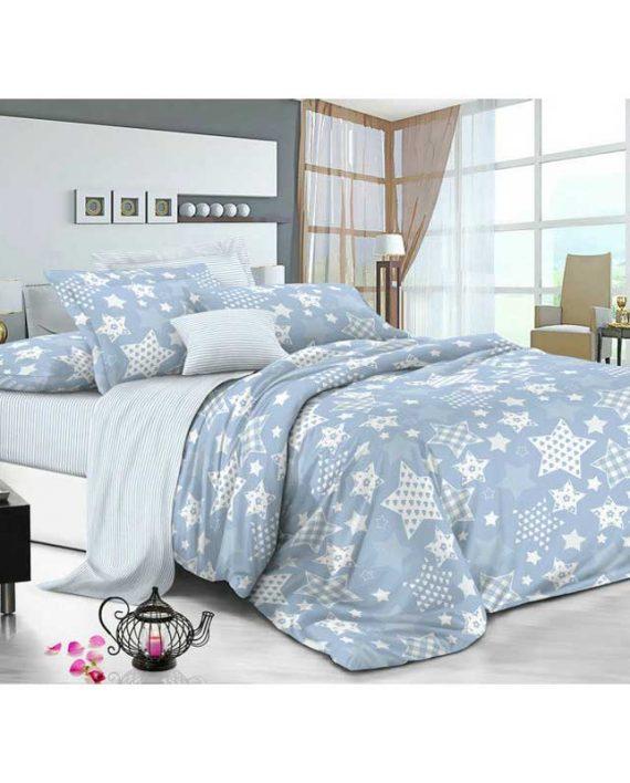6e2b0d848bce50 Комплект постільної білизни Blue Star євро (50х70) – купити в ...